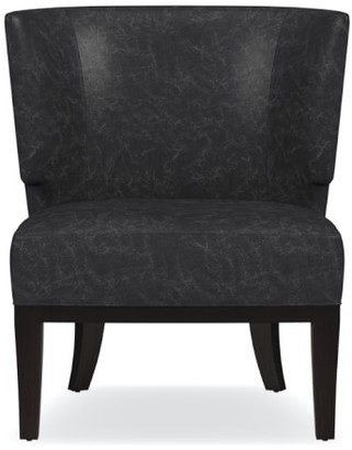 Williams-Sonoma Belmont Leather Occasional Chair