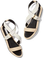 Stella McCartney Flat Criss-Cross Sandals