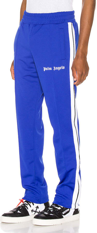 bcc7592a Classic Track Pants in Blue & White | FWRD