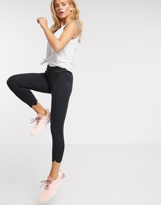 FREE PEOPLE MOVEMENT petal pusher leggings in black