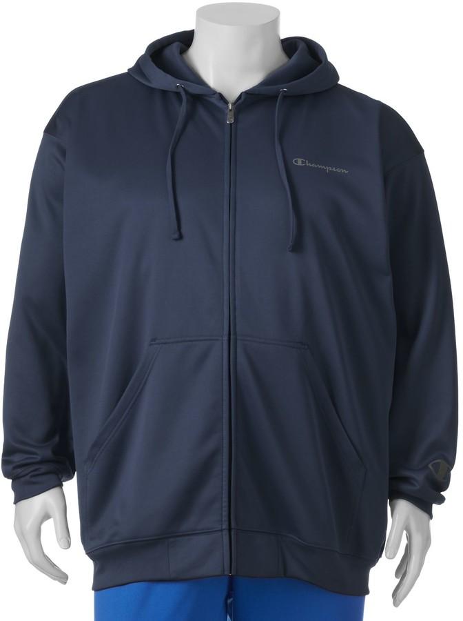 030add08b Big & Tall Classic-Fit Hooded Performance Jacket
