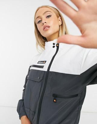 Ellesse Utility Track Jacket In Black Co