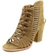 Dolce Vita Amina Open-toe Leather Bootie.