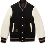 Marc Jacobs - Felted Wool Varsity Jacket