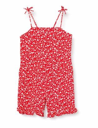 Tommy Hilfiger Girl's LG Floral Jumpsuit Slvls Dress
