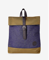 Enter Accessories enter accessories denim fold top backpack