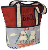 Hoohobbers Tote Diaper Bag, Ahoy by