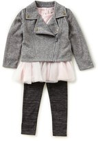 Starting Out Baby Girl 3-9M 3 Piece Jacket Set