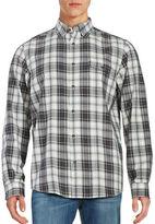 Black Brown 1826 Flannel Sport Shirt