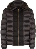 Ten C Hooded Shearling Padded Jacket