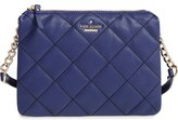 Kate Spade 'emerson Place Harbor' Quilted Leather Crossbody Bag