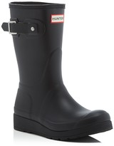 Hunter Women's Original Short Wedge Sole Rain Boots