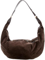 The Row Sling Suede Hobo