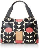Orla Kiely Matt Laminated Tulip Stem Print Classic Zip Shoulder Bag