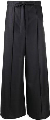 Loewe Wide-Leg Wool Trousers