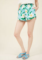 Motel Bungalow Glow Floral Shorts in S