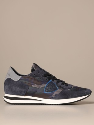 Philippe Model Sneakers Tropez Sneakers In Camouflage Nylon