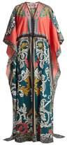 Mary Katrantzou Asso drawstring-waist dress