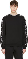 McQ by Alexander McQueen Black Numeral Clean Pullover