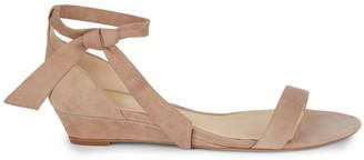 Alexandre Birman Atena Suede Wedge Sandals