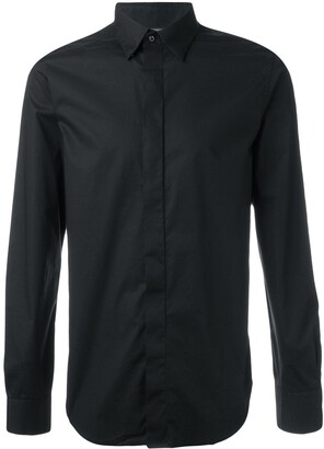 Diesel Concealed Fastening Buttoned Shirt