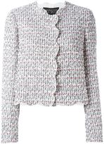 Giambattista Valli fitted tweed jacket