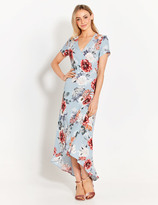 Dotti Lilly Wrap Over Floral Dress