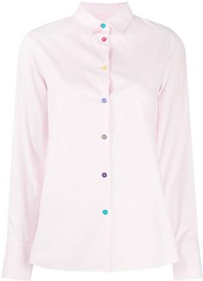 Paul Smith Tailored Printed Cuff Shirt