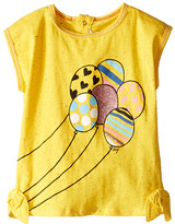 Little Marc Jacobs Jersey Tee Shirt with Balloons (Infant)