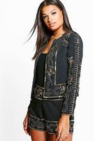 Boohoo Amelia Boutique Embellished Jacket