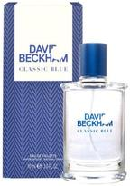 David Beckham Classic Blue Eau De Toilette Spray for Men (3 oz/88 ml)