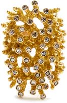 MAURIZIO PINTALDI Diamond & yellow-gold ring