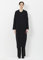 Zero Maria Cornejo black long sleeve koya coat