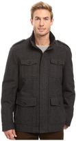 Tommy Hilfiger Wool Melton Four-Pocket Military Coat