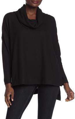 ADY P Cowl Neck High/Low Sweater