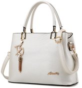 Laryana Fashion Women's Tote Pu Leather Top Handle Satchel Shoulder Handbag