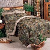 Realtree Hardwoods Square Pillow