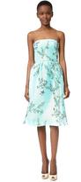 Monique Lhuillier Strapless Dress