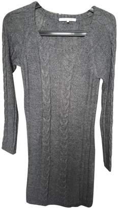 Gerard Darel Anthracite Wool Dress for Women