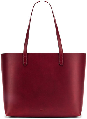 Mansur Gavriel Large Tote Bag in Bordo | FWRD