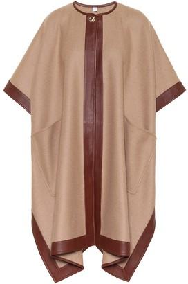 Burberry Pyecombe cashmere cape