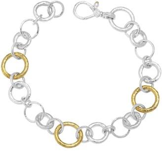 Gurhan Hoopla mix link bracelet