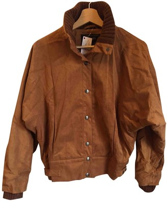 Lacoste Camel Polyester Jackets