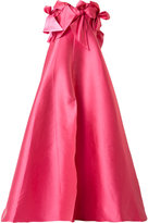 Alexis Mabille bow bell gown - women - Silk/Polyester - 38