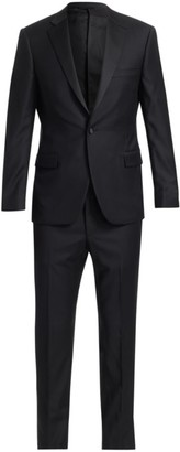 Saks Fifth Avenue COLLECTION BY SAMUELSOHN Classic-Fit Notched Lapel Wool Tuxedo