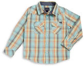 Lucky Brand Boys 8-20 Little Boy's Plaid Snap-Button Shirt