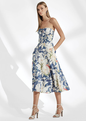 Ralph Lauren Dasha Floral Cocktail Dress