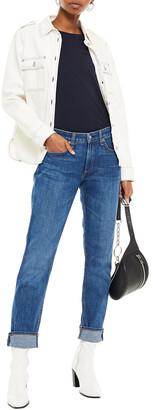 Rag & Bone Cropped Faded Boyfriend Jeans