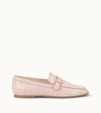 Tods Pink Loafer | Shop the world's