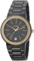 JOOP! Joop Sensation Women's Quartz Watch with Black Dial Analogue Display and Black Stainless Steel Bracelet JP100792F03